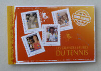 2015 FRANCE TENNIS GREATS STAMP BOOKLET