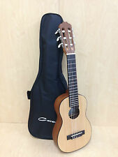 Caraya Solid Spruce Top Natural Matt Guitarlele C-28SN w/ Free Soft Case, Picks