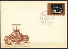 POLAND 1973 FDC SC#1956/60 N. COPERNICUS PAINTINGS