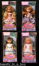 """Princess and the Pauper Kelly Dolls Lot 4 Anneliese Erika Barbie Doll Excellent"""""""