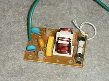WB27X11134  MICROWAVE OVEN NOISE FILTER & FUSE PULLED FROM A BRAND NEW MICROWAVE
