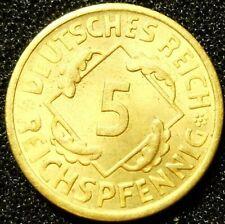 5 Reichspfennig 1925 E  -- GUTER ZUSTAND  #5216