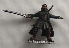 Clásico Aragorn a pie el SEÑOR DE LOS ANILLOS fuera de imprenta Metal Modelo (beca)