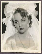 OLIVIA DE HAVILLAND Young Portrait 1935 ORIGINAL Glamour Portrait J4341