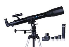 Profi Teleskop Opticon SKY NAVIGATOR 70F700EQ + Kellner + Barlow