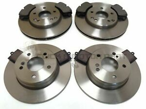 MERCEDES CLK 320 CLK320 2002-2009 FRONT AND REAR BRAKE DISCS & PADS SET NEW