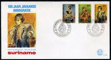 SURINAME E138 FDC 1990 - 100 jaar Javaanse immigratie