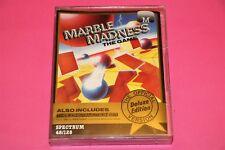 Marble Madness-Sinclair Spectrum 48K/128K cassette probado