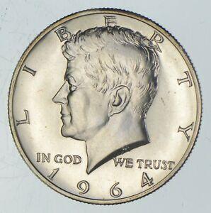 ERROR 1964 TRANSITIONAL Rev PF Kennedy Half Dollars 90% Silver Tough Coin! *402