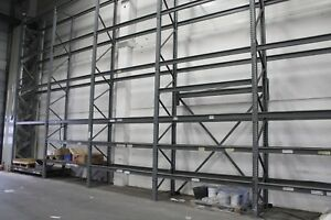 Galler Regalsystem Palettenregal Schwerlastregal  L 18 Meter x T 0,90 x H 6,50