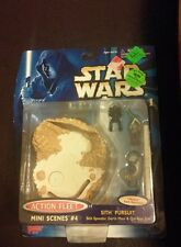 New 1998 Star Wars Episode 1 Action Fleet Mini Scenes #4 Sith Pursuit Galoob