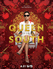 QUEEN OF THE SOUTH,1st season 4 dvd's 13 chapters,DOWNLOADED FROM INTERNET.ENG.
