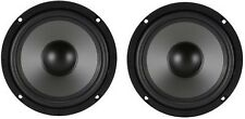 "New (2) OEM Sony High Performance 6.5"" Sub Woofer Speaker Car / Home / Studio DJ"