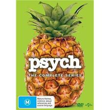 Psych Series Complete Season 1-8 1 2 3 4 5 6 7 & 8 New OZ DVD Box Set Region 4