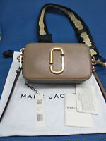 Genuine Marc Jacobs Snapshot Small Camera Bag Crossbody french grey hot sales.