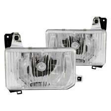 For Nissan Pathfinder 1987-1995 Anzo 111050 Chrome Euro Headlights