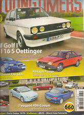 YOUNGTIMERS 39 FUEGO PEUGEOT 406 COUPE VW GOLF GTI 16S OETTINGER ALFA 156 GTA
