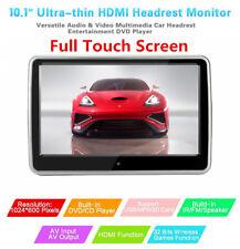 2Pcs Touch Screen LCD poggiatesta lettore DVD CONTROLLER TELECOMANDO A INFRAROSSI GIOCO disco USB