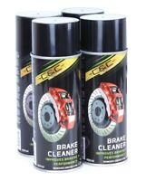 4 Spray Nettoyant et dégraissant freins Lot de 4 spray 4x400ml Auto Moto