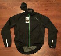 NWT Endura Women's Xtract Cycling Jacket Medium Black E9071BK/4 New