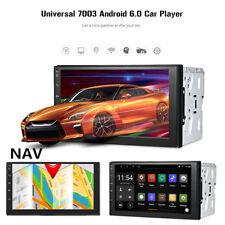7''Android6.0 Car 2Din GPS Navigation Bluetooth Wifi Steering-Wheel Radio Player
