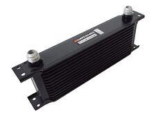 Motamec Oil Cooler 13 Row - 235mm Matrix -10 AN JIC - Black Alloy