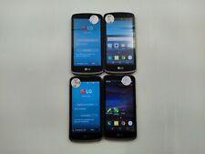New listing Lot of 4 LG Spree K120 8GB Cricket Check IMEI Grade A/B/C DA-1031