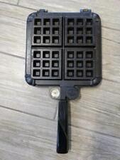 "vintage 7"" belgium waffle iron NORDIC WARE stovetop"