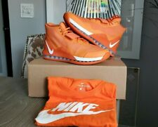 🔥NIKE AIR FORCE MAX '19 TB PROMO In Syracuse Orange With FREE LG Nike T-Shirt🔥