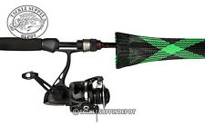 The Rod Glove Spinning Standard Fishing Rod Cover 6ft to 7ft Green Spyder