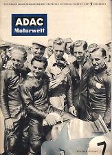 ADAC Motorwelt vom Juli 1954, Kabinenroller, Borgward Hansa 1500, Le Mans uvm.