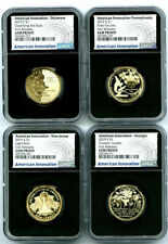 2019 S $1 AMERICAN INNOVATION DOLLAR NGC GEM PROOF 4 COIN SET FIRST RELEASES