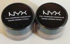 NYX Cosmetics Full Coverage Concealer Jar ~ CJ06.5 GOLDEN~ (2X)