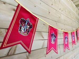 HARRY POTTER GRYFFINDOR Bunting Party Event Hogwarts Celebration Polyester 4m❤️