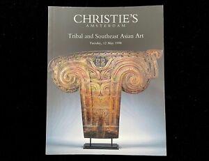 CHRISTIE'S AMSTERDAM TRIBAL AND SOUTHEAST ASIAN ART MAY 1998 TOLAI NIAS DAYAK