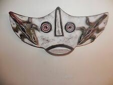 "Arts of Africa - Bobo Bat Mask - Burkina Faso - 9"" Height x 19"" Wide"