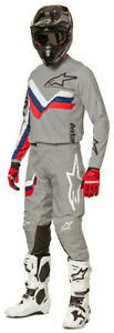 NEW ALPINESTARS 2022 RACER BRAAP RACE KIT SUIT MID GREY MX MOTOCROSS ASTARS BMX