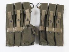 #Z Wehrmacht Afrikakorps MP40 PAAR Magazintasche MP38/40 Schmeisser