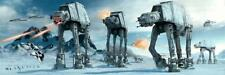 Star Wars Poster At-at Fight Langbahnposter mit Gratisposter
