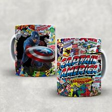 MARVEL,CAPTAIN AMERICA MUG CUP GIFT CARTOON,CAPTAIN AMERICA