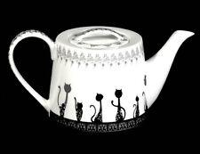 Kaffeekanne Teekanne Kanne Jameson&Tailor Diamant Katzen Ornament
