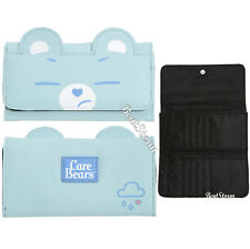 Licensed Care Bears Grumpy Bear Kawaii Ladies Faux Leather Flap Wallet Billfold