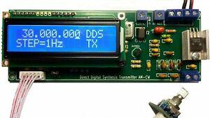 DDS AM LW/MW/SW Transmitter Modulator Mittelwellen sender 100Khz-30Mhz auto lpf