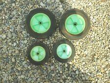 1976 LAWN BOY Set 4 Wheels OEM 678636 & 678637