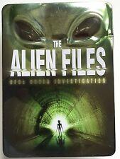 THE ALIEN FILES - UFOs UNDER INVESTIGATION - 5 DVD BOX SET  - IN TIN BOX