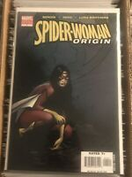 SPIDER-WOMAN ORIGIN 1 OLIVER COIPEL VARIANT COVER 2006 new avengers marvel