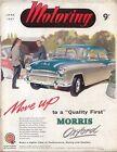 Motoring 6/57 Nuffield Magazine Wolseley 1500 MG Y Type Manumatic Transmission +
