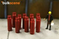 BULKSCENE - RED GAS BOTTLES MODELS - PACK OF 10 - OO GAUGE 1/76
