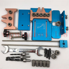 6mm 8mm 10mm 5Holes Dowel Jig Kit Hole Drilling Dowelling Jig Woodworking Tool
