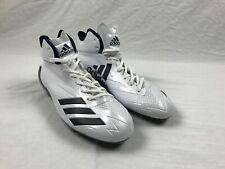 adidas adizero 5 Star 6.0 Mid - White/Navy Cleats (Men's 13) - Used